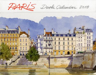 PARIS - DESK CALENDAR 2018